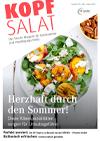 Kopfsalat Ausgabe 59